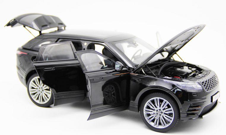 Modellino Land Rover Range Rover Velar Black 2018 LCD MODEL 1