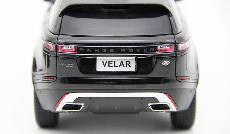 Modellino Land Rover Range Rover Velar Black 2018 LCD MODEL 5