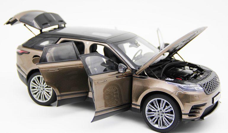 Modellino Land Rover Range Rover Velar Brown 2018 LCD MODEL 1