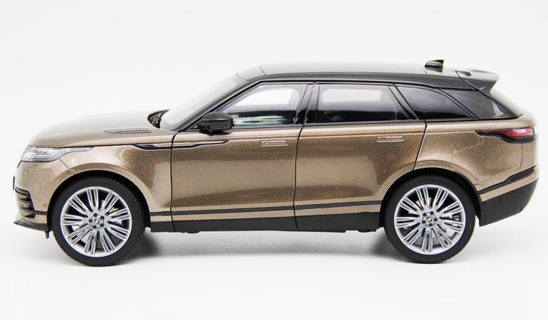 Modellino Land Rover Range Rover Velar Brown 2018 LCD MODEL 2