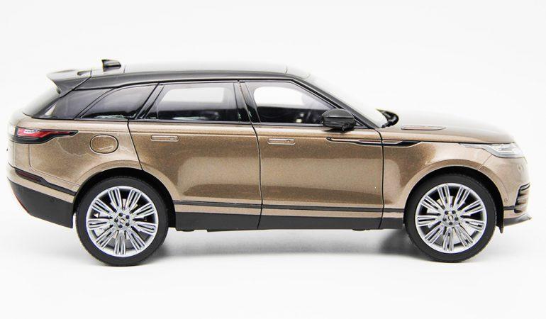 Modellino Land Rover Range Rover Velar Brown 2018 LCD MODEL 3