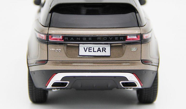 Modellino Land Rover Range Rover Velar Brown 2018 LCD MODEL 5