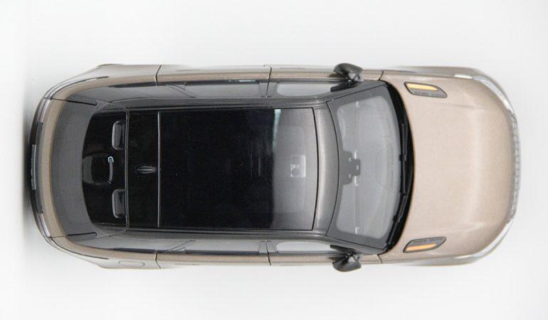 Modellino Land Rover Range Rover Velar Brown 2018 LCD MODEL 6