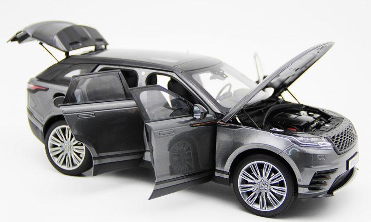 Modellino Land Rover Range Rover Velar Gray 2018 LCD MODEL 1