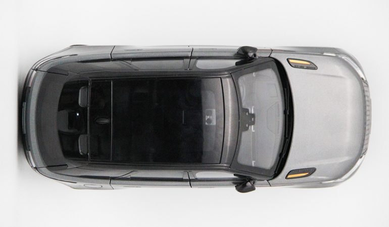 Modellino Land Rover Range Rover Velar Gray 2018 LCD MODEL 6