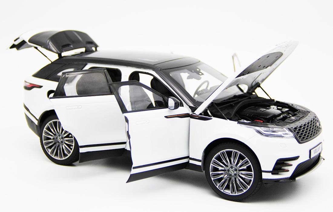 Modellino Land Rover Range Rover Velar White 2018 LCD MODEL 1
