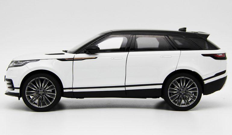 Modellino Land Rover Range Rover Velar White 2018 LCD MODEL 2
