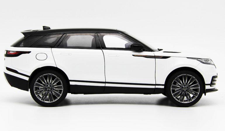 Modellino Land Rover Range Rover Velar White 2018 LCD MODEL 3