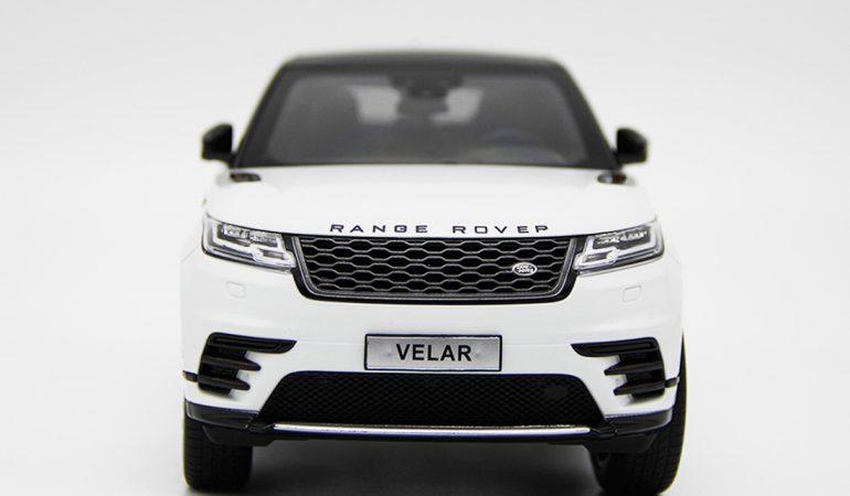 Modellino Land Rover Range Rover Velar White 2018 LCD MODEL 4
