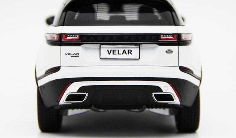 Modellino Land Rover Range Rover Velar White 2018 LCD MODEL 5