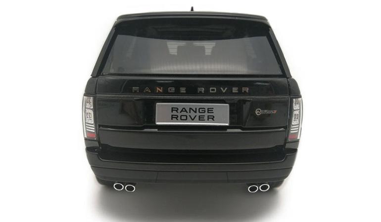 LCD 18001BL D Range Rover Sv Autobiography Dynamic 2017 Black 1-18 LCD Models