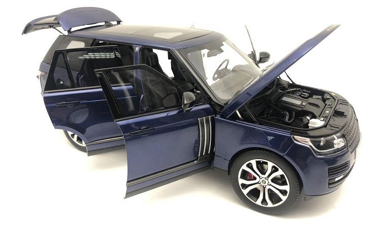 LCD 18001BU F Range Rover Sv Autobiography Dynamic 2017 Blue 1-18 LCD Models