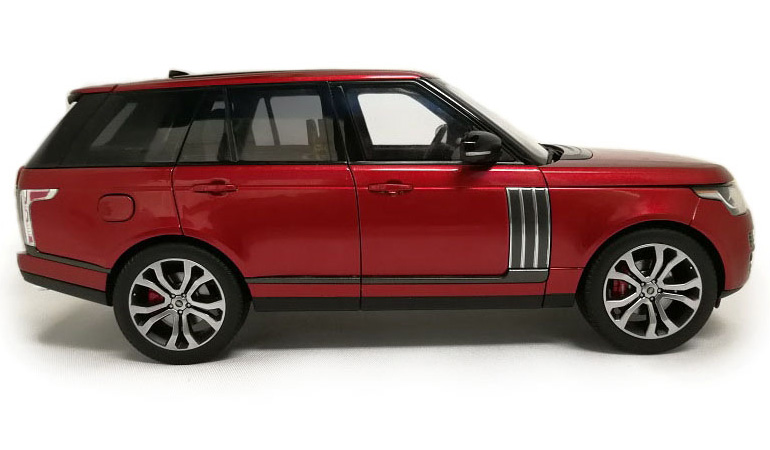 LCD 18001RE B Range Rover Sv Autobiography Dynamic 2017 Red 1-18 LCD Models