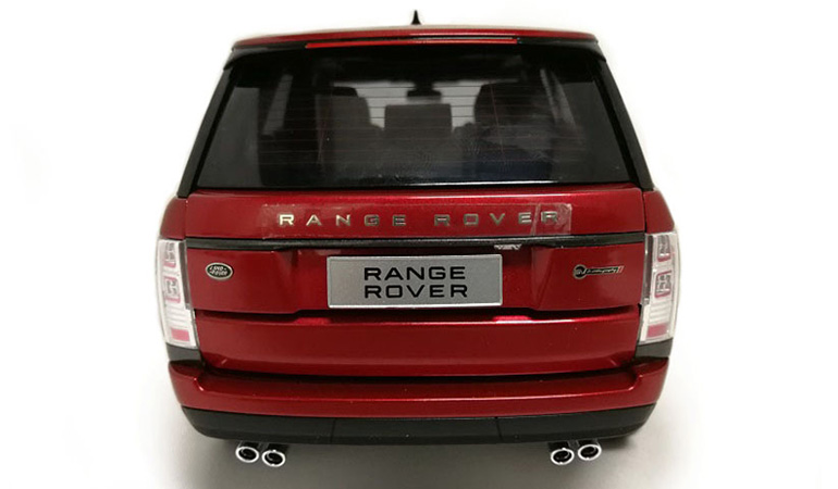 LCD 18001RE D Range Rover Sv Autobiography Dynamic 2017 Red 1-18 LCD Models
