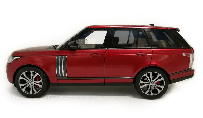 LCD 18001RE Range Rover Sv Autobiography Dynamic 2017 Red 1-18 LCD Models
