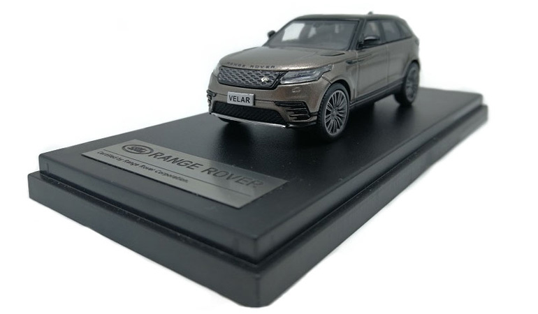 LCD 64001BR C Land Rover Range Rover Velar Brown 2018 1-64 LCD Models