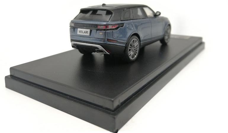 LCD 64001BU D Land Rover Range Rover Velar Blue 2018 1-64 LCD Models