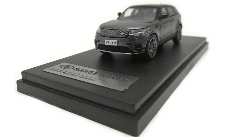LCD 64001GR C Land Rover Range Rover Velar Gray 2018 1-64 LCD Models
