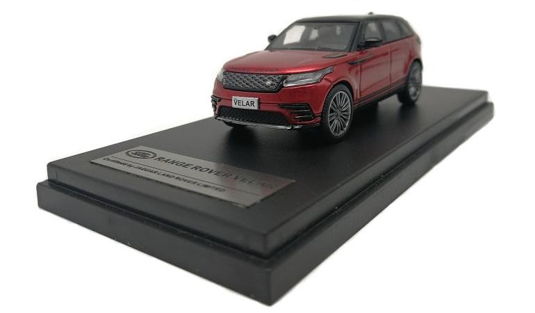 LCD 64001RE C Land Rover Range Rover Velar Red 2018 1-64 LCD Models