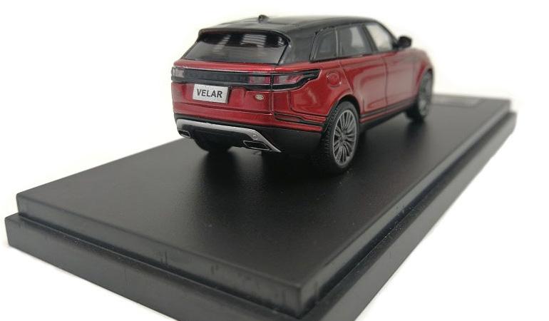 LCD 64001RE D Land Rover Range Rover Velar Red 2018 1-64 LCD Models