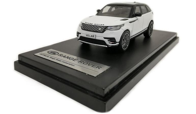 LCD 64001WH C Land Rover Range Rover Velar White 2018 1-64 LCD Models