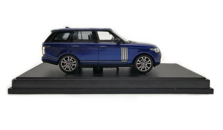 LCD 64002BU B Range Rover Sv Autobiography Dynamic 2017 Blue 1-64 LCD Models