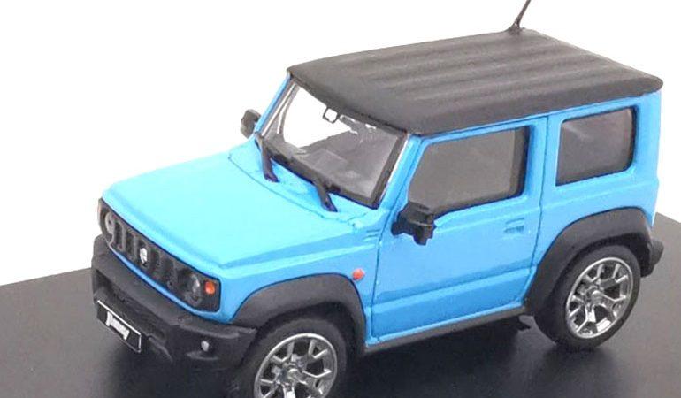 MODELLINO SUZUKI JIMNY SIERRA BLUE 2018 LCD MODELS SCALA 1/64