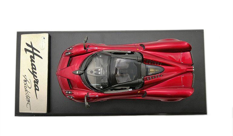 Pagani Huayra Rosso Lcd Model scala 1/43