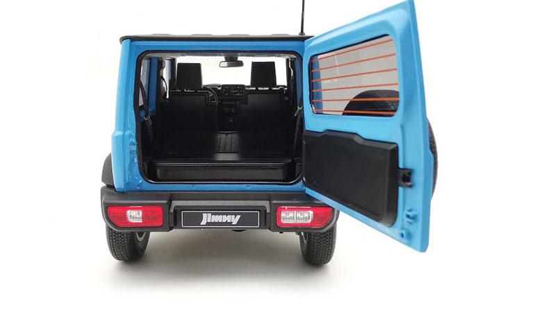 MODELLINO SUZUKI JIMNY SIERRA BLUE 2018 LCD MODELS SCALA 1/18