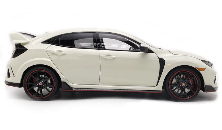Honda Civic Type-R FK8 colore bianco scala 1/18
