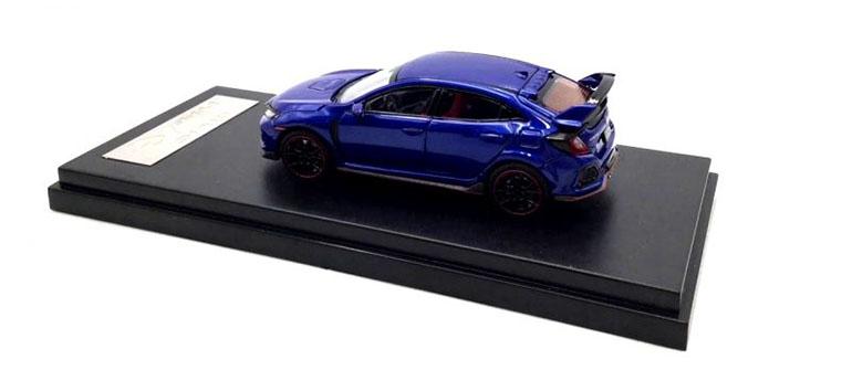 Honda Civic Type-R FK8 colore blu scala 1/64
