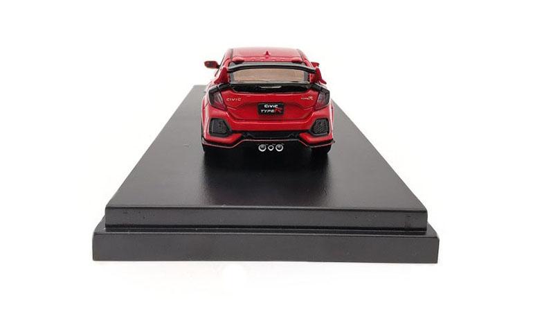 Honda Civic Type-R FK8 colore rosso scala 1/64