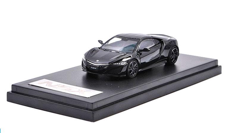 Modellino Honda NSX LCD Models in scala 1/64 nero