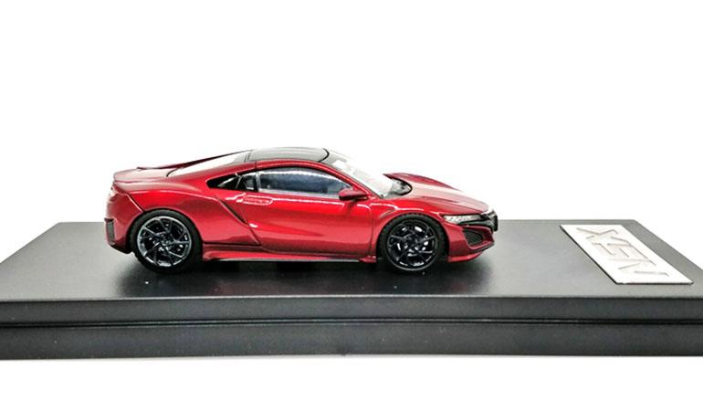 Modellino Honda NSX LCD Models in scala 1/64 rosso