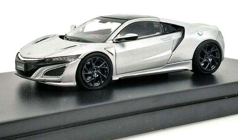 Modellino Honda NSX LCD Models in scala 1/64 bianco