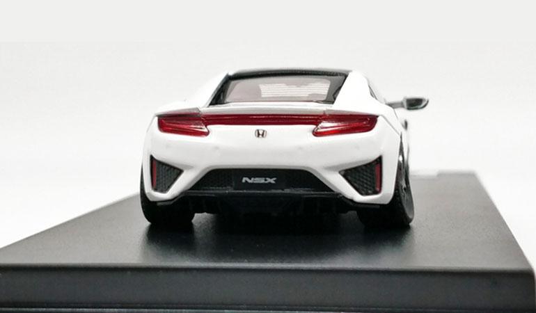Modellino Honda NSX LCD Models in scala 1/64 bianca